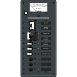 8589 AC Toggle Source Selector, 230V, 2 Sources + 6 Positions - Blue Sea Systems