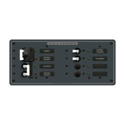 8599 AC Toggle Source Selector, 230V, 2 Sources + 4 Positions - Blue Sea Systems