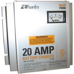 Battery Charger 20 Amp 12 Volt 220VAC 50/60 Hz 5000 Sp - Charles