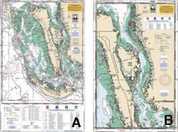 Pine Island Sound, Matlacha, Florida Nautical Marine Charts - Waterproof Charts