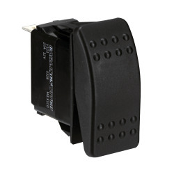 Paneltronics Switch Dpdt Black On/Off/On Waterproof Rocker