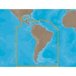SA-M503 C-Card Format South America, Gulf of Mexico & Caribbean Electronic Charts - C-Map