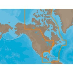 NA-M033 SD Card Format Atlantic Coast, Gulf of Mexico & Caribbean Electronic Charts - C-Map