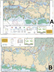 Everglades City to Lostmans River Nautical Marine Charts - Waterproof Charts