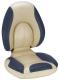 Centric SAS Folding Boat Seat, Tan & Blue - Attwood
