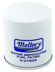 Mallory Filter, Fuel Water Sep. 9-37803