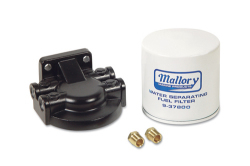 Mallory Filter, Fuel Water Seperator Kit 9-37850