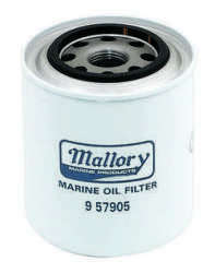 Mallory Oil Filter, Diesel 9-57905
