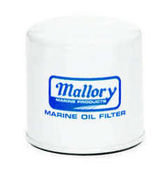 Mallory Oil Filter, Diesel 9-57911