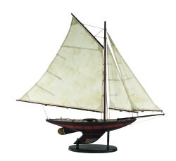 Yacht Ironsides, Small Model Ship - Authentic Models