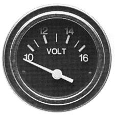 Voltmeter, 10-16 VDC - SeaStar