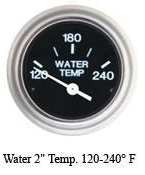 Water Temp, 120-240 F, Sender Required - SeaStar