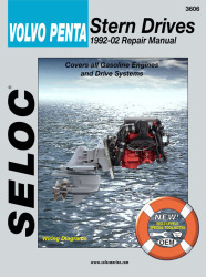 Volvo Penta Stern Drives 1992-2002 Repair Manual Powered by Ford or GM, Includes All Drives Systems - Seloc