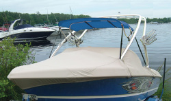 Ultima Bimini (with frame), Pacific Blue