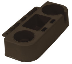 Boat Seat Cup Holder and Gear Caddy, Brown - Wise Boat Seats