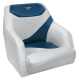 Traditional Style Bucket Seat Contemporary Series, Gray-Blue - Wise Boat Seats