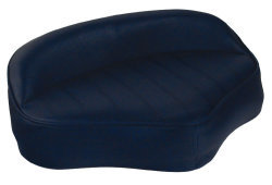 Boat Butt Seat with Embossed Pattern, Navy - Wise Boat Seats