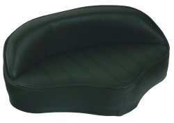 Boat Butt Seat with Embossed Pattern, Green - Wise Boat Seats