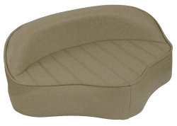 Boat Butt Seat with Embossed Pattern, Sand - Wise Boat Seats