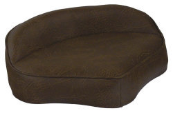 Boat Butt Seat with Embossed Pattern, Brown - Wise Boat Seats