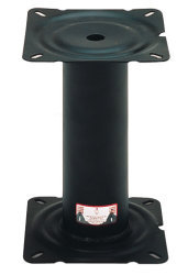 "13"" Fixed Height Steel Seat Pedestal - Wise Boat Seats"