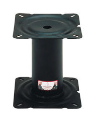 "7"" Fixed Height Steel Seat Pedestal - Wise Boat Seats"