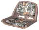 Camouflage Molded Plastic Seat, Advantage Max 4 Cushions on Brown Shell - Wise Boat Seats