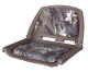 Camouflage Molded Plastic Seat, Mossy Oak Break-Up Cushions on Brown Shell - Wise Boat Seats