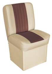 Jump Seat Deluxe Runner, Sand-Brown - Wise Boat Seats
