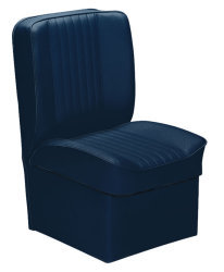 Jump Seat Deluxe Runner, Navy - Wise Boat Seats