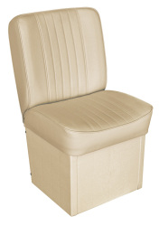Jump Seat Deluxe Runner, Sand - Wise Boat Seats