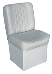 Jump Seat Deluxe Runner, Gray - Wise Boat Seats