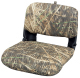 Clam Shell Pro Style with Snap-on Camo Cushions, Camouflage Grass - Wise Boat Seats