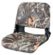 Clam Shell Pro Style with Snap-on Camo Cushions, Camouflage MAX-4 - Wise Boat Seats