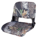Clam Shell Pro Style with Snap-on Camo Cushions, Camouflage Break up - Wise Boat Seats
