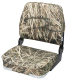 Camo Big Man Fold-Down Hunting & Fishing Seat, Camouflage Grass - Wise Boat Seats