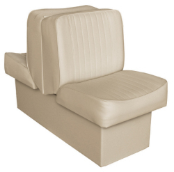 Back-to-Back Lounge Seat Deluxe Runner, Sand - Wise Boat Seats