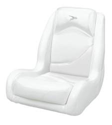 Bucket Seat Contemporary Series Recargo Style, White - Wise Boat Seats