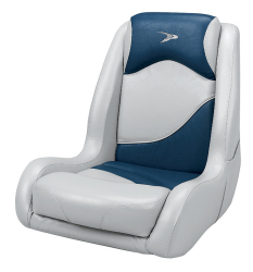 Bucket Seat Contemporary Series Recargo Style, Gray-Blue - Wise Boat Seats