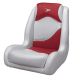 Bucket Seat Contemporary Series Recargo Style, Gray-Red - Wise Boat Seats