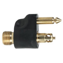 """1/4"""" NPT Brass Male Fuel Line Tank Connector for Yamaha - Moeller"""