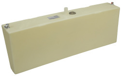 24 Gallon Permanent Boat Fuel Tank with Port Side Withdraw - Moeller