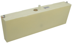 24 Gallon Permanent Boat Fuel Tank with Starboard Side Withdraw - Moeller