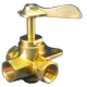 Three-Way Valve,Side Outlet 3/8 FNPT - Moeller