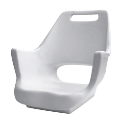 Deluxe Pilot Seat 007 Roto Molded Shell Only - Wise Boat Seats