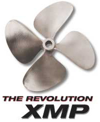 "XMP 4-Blade 13.7 x 19.5 LC 1-1/8"" Bore .110 Cup - OJ Propellers"