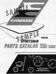1970 Evinrude Boat Parts Catalog 979613 - Ken Cook Co.