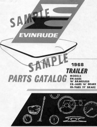 1969 Evinrude Trailer Parts Catalog 978925 - Ken Cook Co.