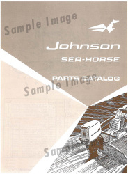 1976 Johnson Outboard Parts Catalog 387548 - Ken Cook Co.