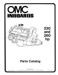 OMC Sail Drive Parts Catalog 389181 - Ken Cook Co.